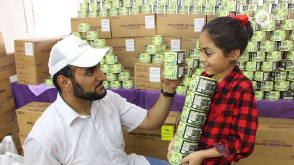 Canned Qurban - Syrian & Palestinian refugees in Jordan